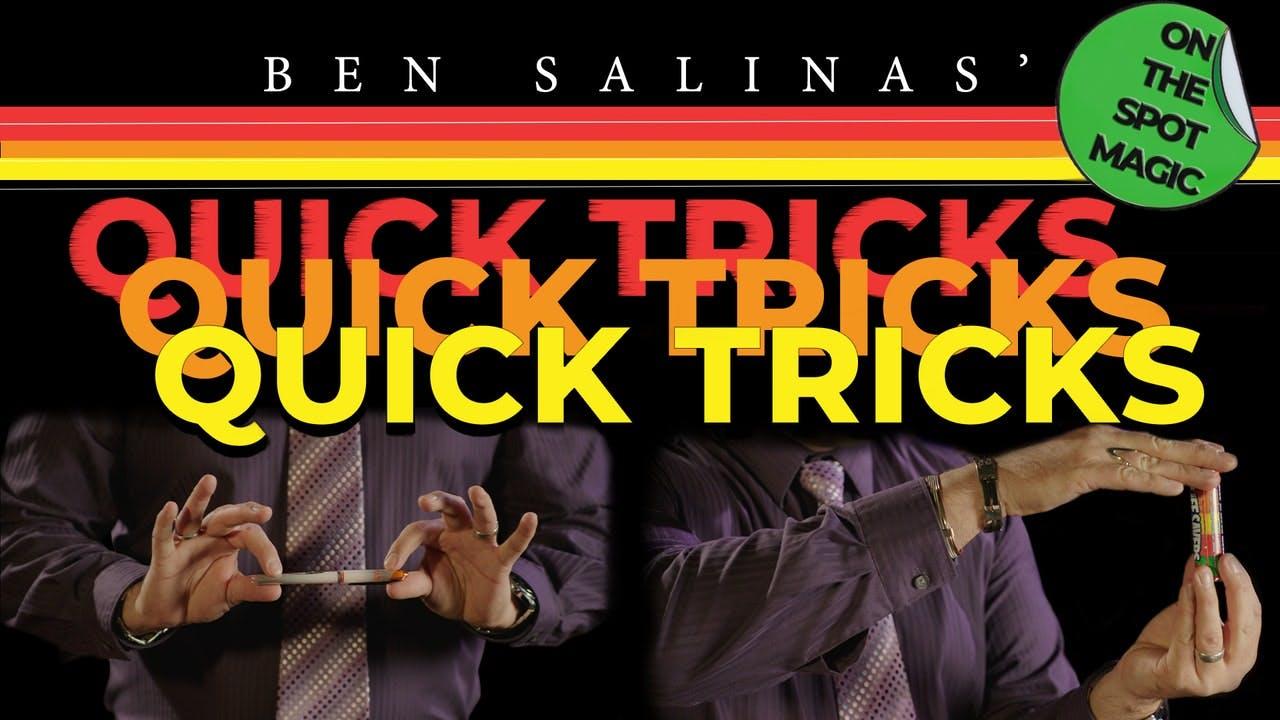 Quick Tricks with Ben Salinas - Instant Download