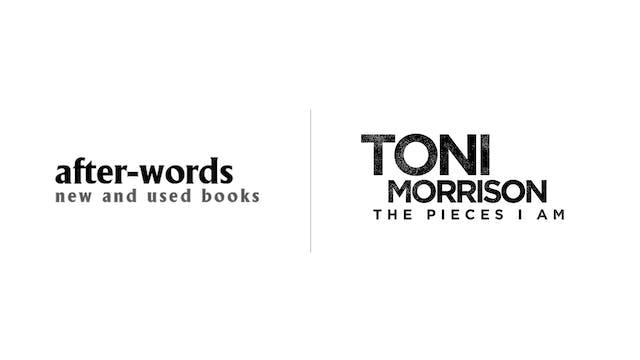 Toni Morrison - after-words bookstore