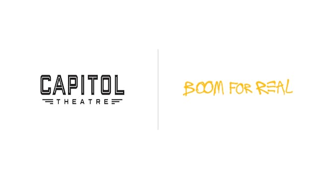 Boom for Real - The Whiting & Capitol Theatre
