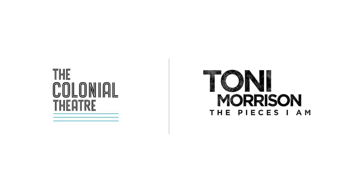 Toni Morrison - Colonial Theatre