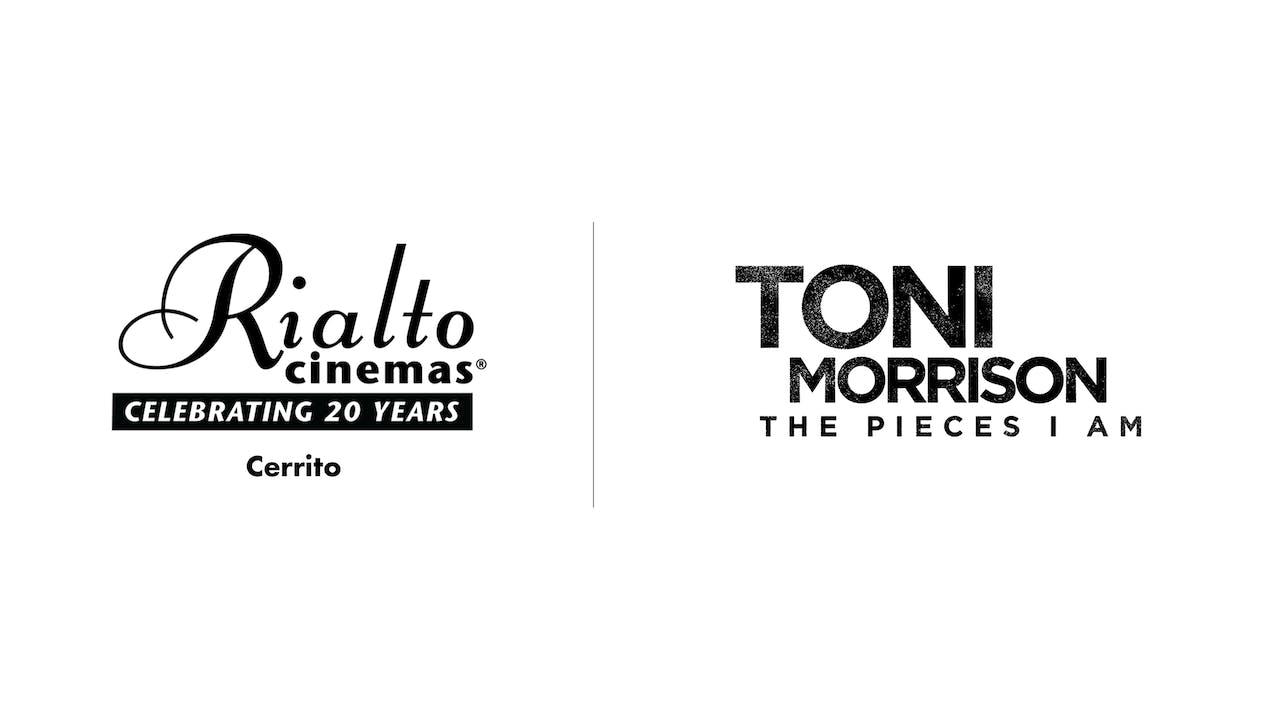 Toni Morrison - Rialto Cinemas Cerrito