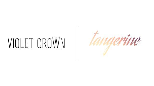 Tangerine - Violet Crown