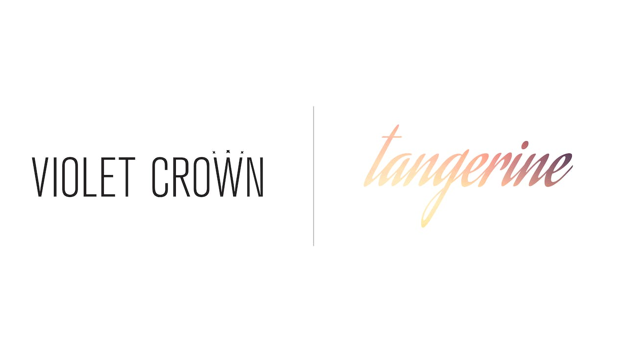 Tangerine - Violet Crown