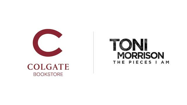 Toni Morrison - Colgate Bookstore