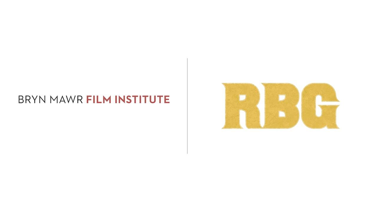 RBG - Bryn Mawr Film Institute