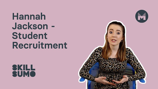 7. Hannah Jackson - Student Recruitment