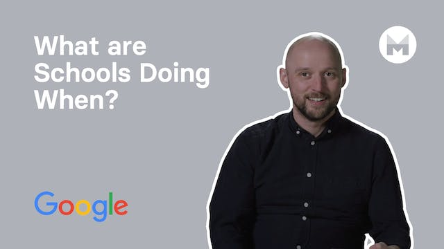 6. What are Schools Doing When?