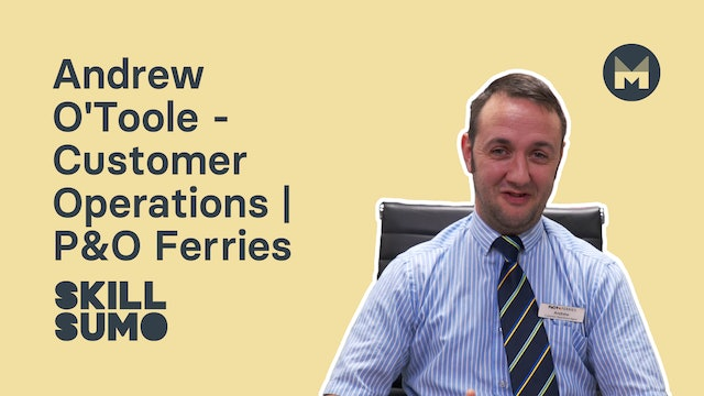Andrew O'Toole - Customer Operations | P&O Ferries