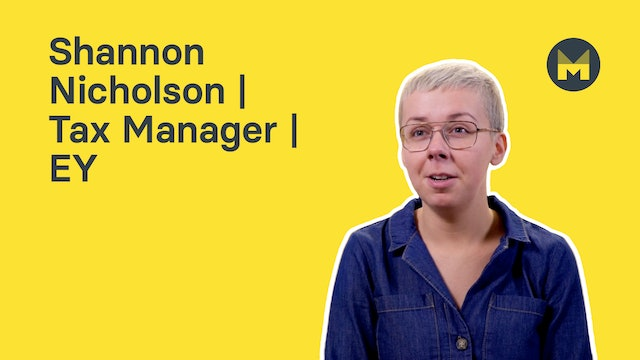 Shannon Nicholson | Tax Manager | EY