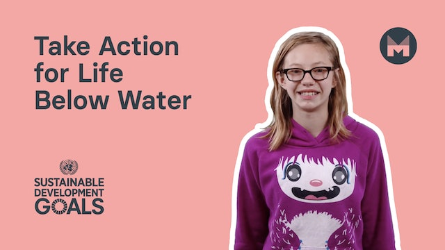 Take Action for Life Below Water (Ages 5 - 11)