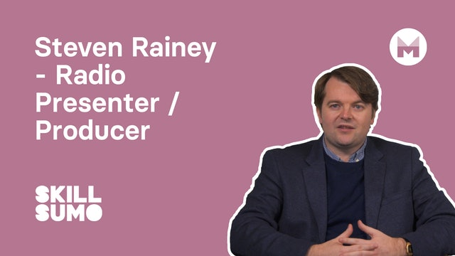 Steven Rainey - Radio Presenter & Producer