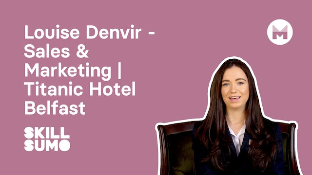 Louise Denvir - Sales & Marketing | Titanic Hotel Belfast