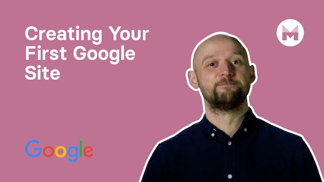 2. Creating Your First Google Site