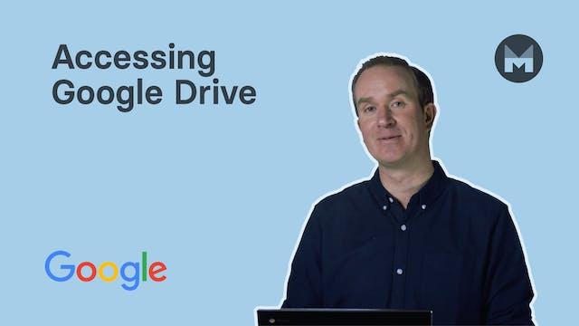 2. Accessing Google Drive