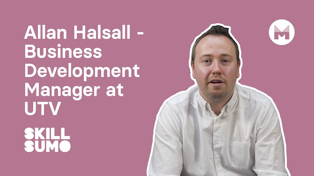 Allan Halsall - Business Development Manager | UTV