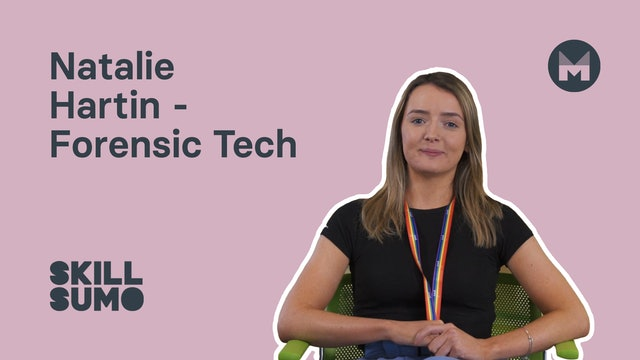 10. Natalie Hartin - Forensic Tech