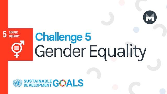 Challenge 5: Gender Equality