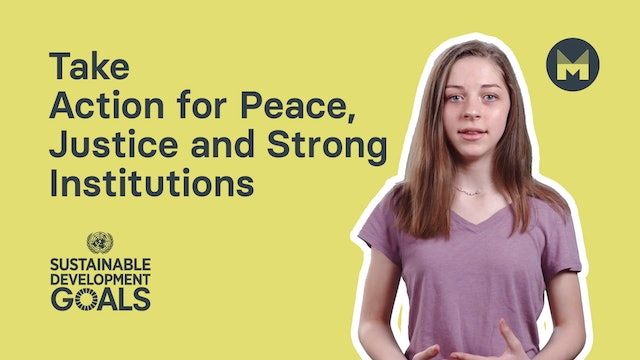 10. Take Action for Peace, Justice and Strong Institutions (Ages 11 - 17)