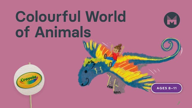 Colorful World of Animals | Writing Art