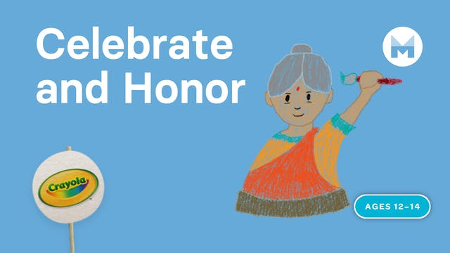 Celebrate and Honor | Writing Art