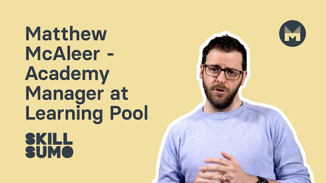Matthew McAleer - Academy Manager at Learning Pool