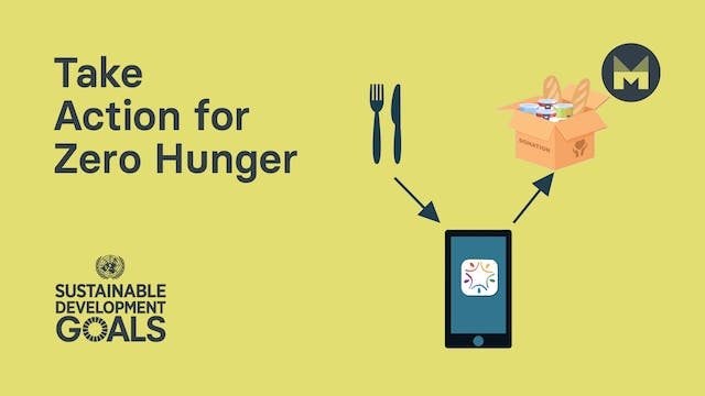 16. Take Action for Zero Hunger (Ages...
