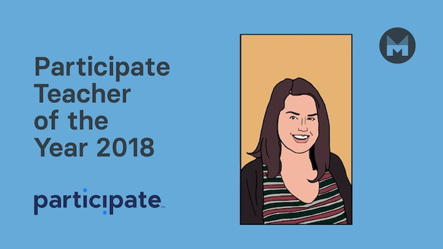 Katie Gourlay - Participate Teacher of the Year 2018