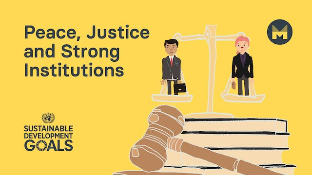 16. Global Goal 16: Peace, Justice an...