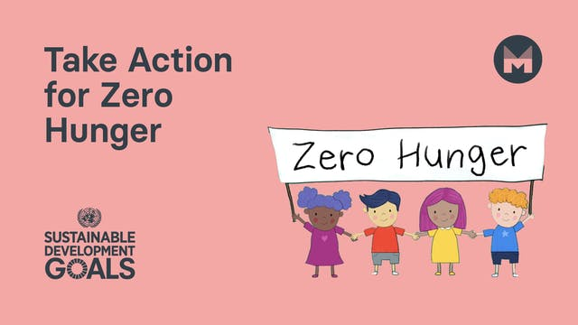 Take Action for Zero Hunger (Ages 5 -...