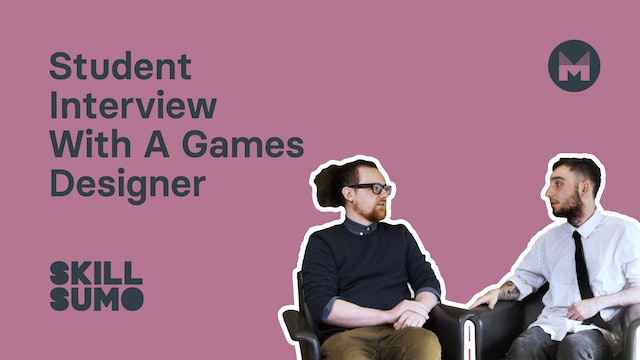 Student Interview with a Games Designer