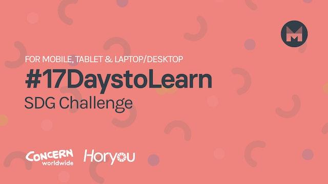 #17DaystoLearn (Mobile, Tablet, Laptop/Desktop)