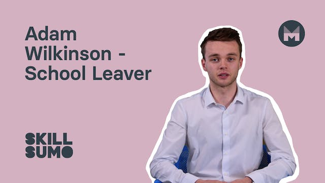 5. Adam Wilkinson - School Leaver