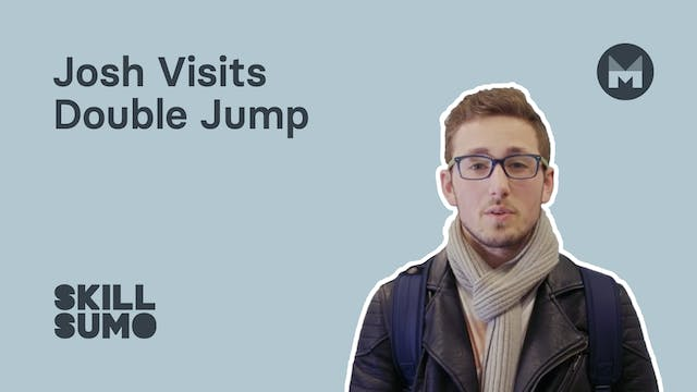 Josh visits Double Jump