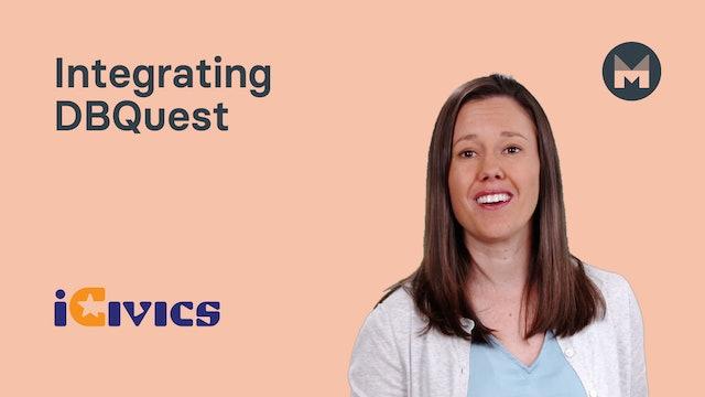 10. Integrating DBQuest