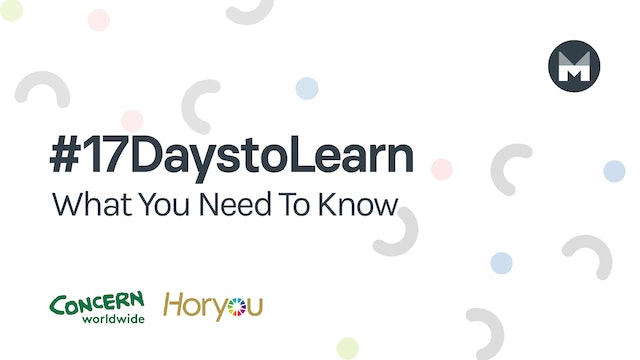 #17DaystoLearn: What You Need To Know
