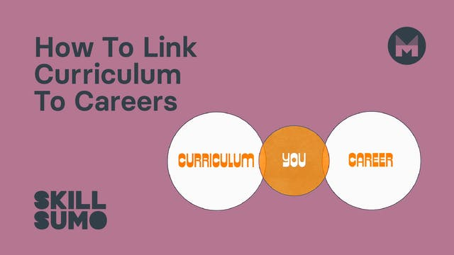 How To Link Curriculum To Careers