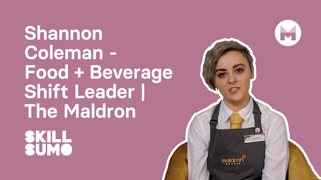 Shannon Coleman - Food & Beverage Shift Leader