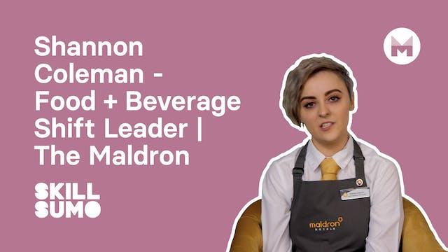 Shannon Coleman - Food & Beverage Shi...