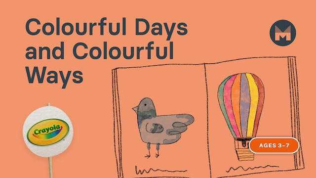 Colourful Days and Colourful Ways | Writing Art