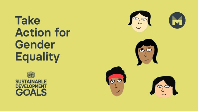 5. Take Action for Gender Equality (Ages 11 - 17)