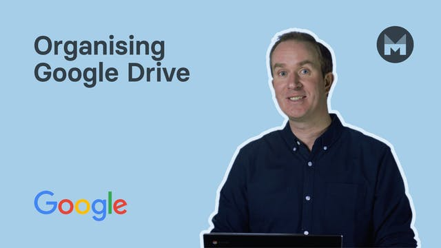 8. Organising Google Drive