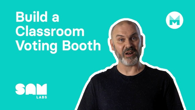 Build a Classroom Voting Booth