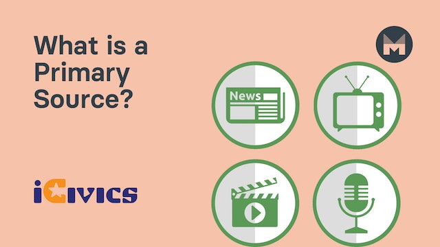 1. What is a Primary Source?