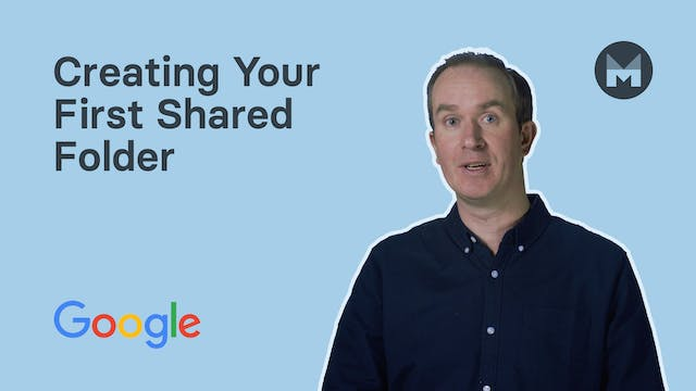 3. Creating Your First Shared Folder