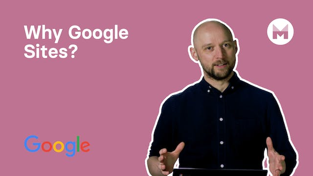 1. Why Google Sites?