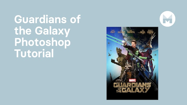 Guardians of the Galaxy Photoshop Tutorial