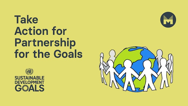 9. Take Action for Partnership for the Goals (Ages 11 - 17)