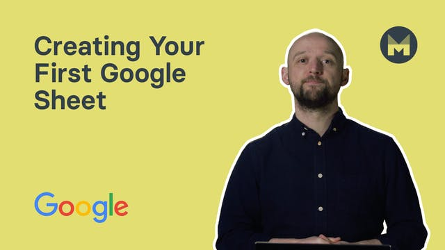 2. Creating Your First Google Sheet