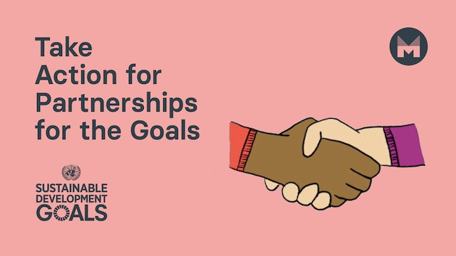 Take Action for Partnerships for the Goals (Ages 5 - 11)