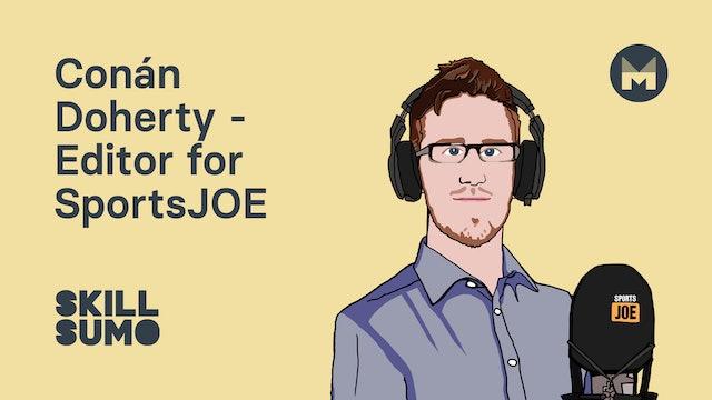 Conán Doherty - Editor for Sports JOE